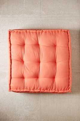 Reema Floor Cushion - Blush - Urban Outfitters