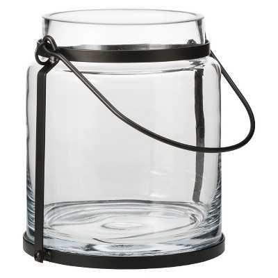 "Smith & Hawken® Glass Hurricane Lantern Candle Holder - 7"" - Target"