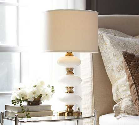 Cecile Lamp Base - White - Pottery Barn