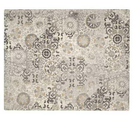 Talia Printed Rug - 8x10 - Pottery Barn