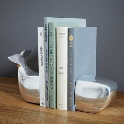 Whale Bookends - West Elm