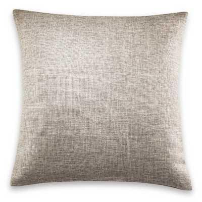 """Throw Pillow, 18"""" sq. Silver, insert - Wayfair"""