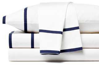 Collana Sheet Set, Navy - One Kings Lane
