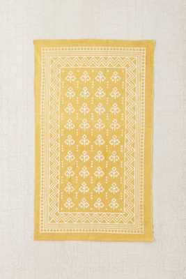 Magical Thinking Boho Border Printed Rug - Gold - 5' x 7' - Urban Outfitters