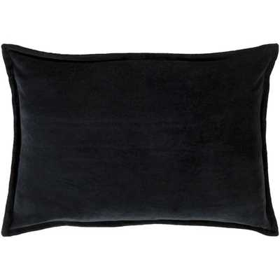 Lumbar Pillow - 14x20, Charcoal, Polyester Insert - AllModern