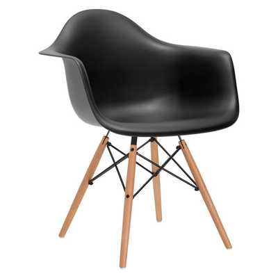 Vortex Arm Chair - Black - AllModern