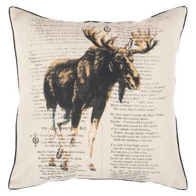 """Alaska Toss Pillow - Beige - 18"""" x 18"""" - Insert sold seperately - Target"""