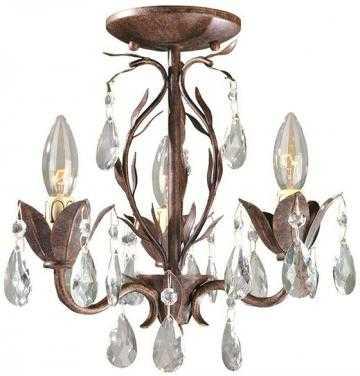 BIJOUX 3-LIGHT CHANDELIER - Home Decorators