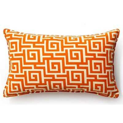 Puzzle Outdoor Lumbar Pillow - AllModern