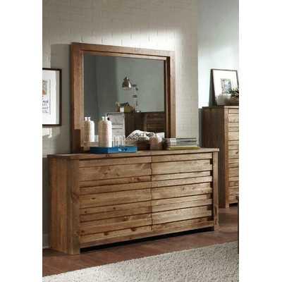 Melrose 6 Drawer Dresser and Mirror - Wayfair