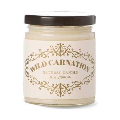 Wild Carnation 9 oz. Apothecary Jar - Domino