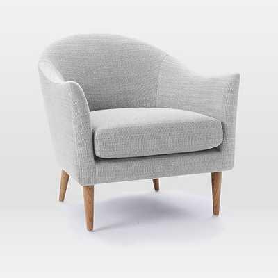 Antwerp Chair - Shadow Weave - Platinum - West Elm