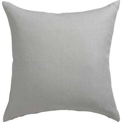 Linon grey pillow - 20x20 - With Insert - CB2
