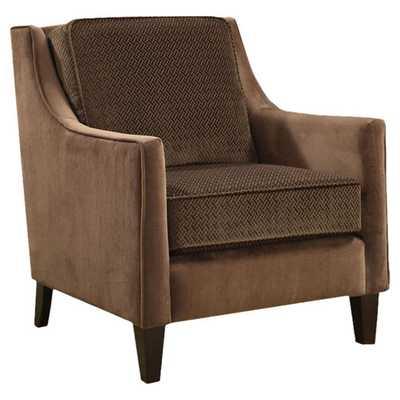 Contrasting Velvet Chair - AllModern