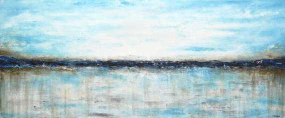 "Large landscape painting original 72"" - Unframed - Etsy"