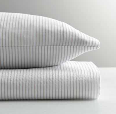 Classic stripe toddler pillowcase - RH Baby & Child