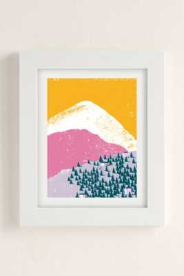 Leaf City Press Mountain Scene No. 1 Art Print - Urban Outfitters
