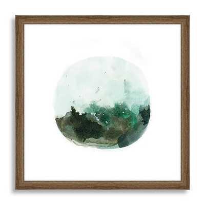 "Minted for west elm - Terranium, 20""sq, framed art - West Elm"
