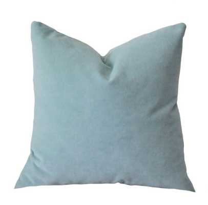 """Designer Decorative French 18"""" Blue Pillow Cover - Insert is not included - Etsy"""
