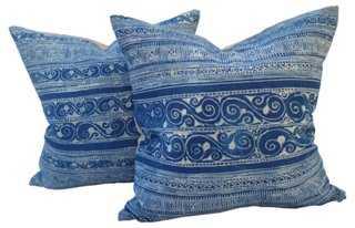 Tribal Batik Pillows, S/2 - One Kings Lane