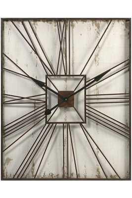 Tucker Wall Clock - Home Decorators