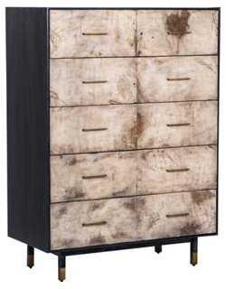 Sierra Tall Dresser, Obsidian - One Kings Lane