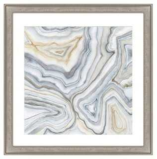 Agate Abstract II - 26x26 - Framed - One Kings Lane