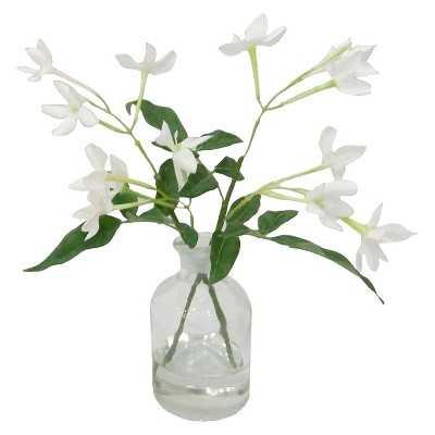 """Thresholdâ""""¢ Blossom in Glass - White (8.5"""") - Target"""