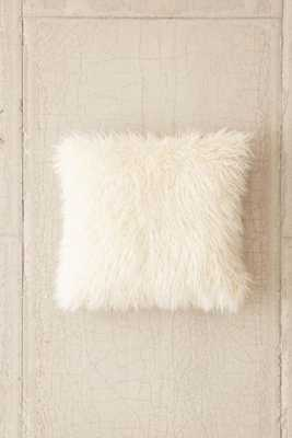 Mongolian Faux Fur Oversized Pillow - Urban Outfitters