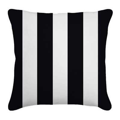 "Outdoor Throw Pillow-Finnigan Tuxedo-18""x18""-Insert - Wayfair"