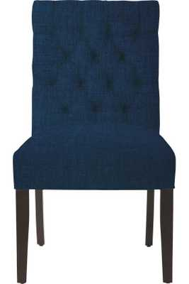 CUSTOM BUTTON-TUFTED SIDE CHAIR - Home Decorators