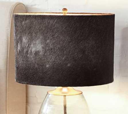 Rhea Cow Hide Lamp Shade - Pottery Barn