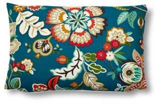 Floral 12x18 Pillow, Multi - One Kings Lane