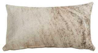Full-Panel Hide Pillow - One Kings Lane