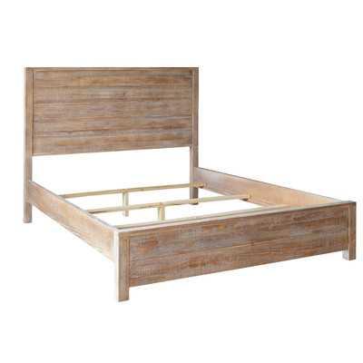 Montauk Panel Bed - Queen/Driftwood - Wayfair