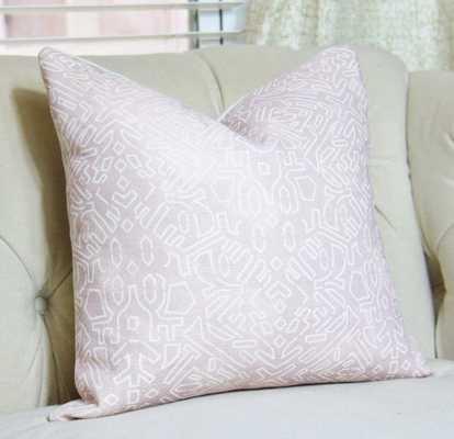 "Zak & Fox Pillow Cover - 20""Sq. - Insert Sold Separately - Etsy"