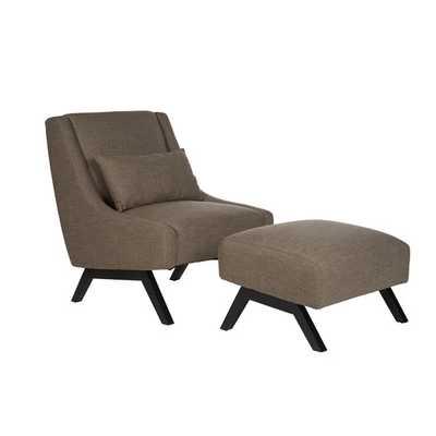 Robb Slipper Chair & Ottoman - AllModern