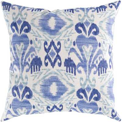 """Appealing Aboriginal Pillow Cover - Blue - 18"""" Sq - Insert Sold Separately - AllModern"""