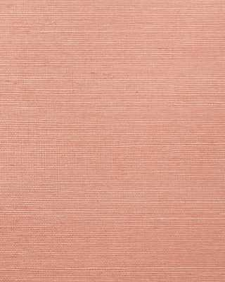 Grasscloth Wallpaper Light Coral - Domino