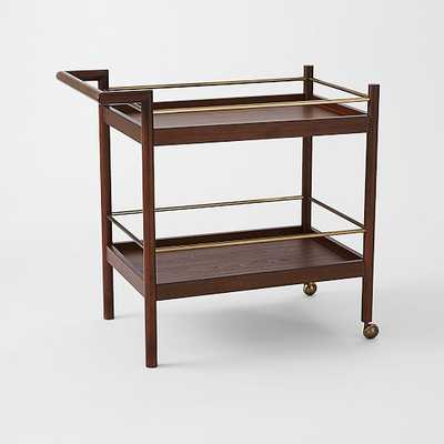 Mid-Century Bar Cart - West Elm