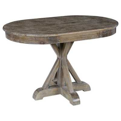 Kosas Home Kosas Collection Rockie Pine Wood Oval Dining Table - Overstock
