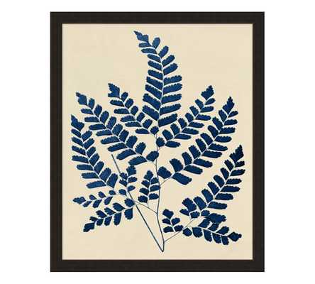 "Pressed Fern Print - 24 X 30"" - wood frame - Pottery Barn"