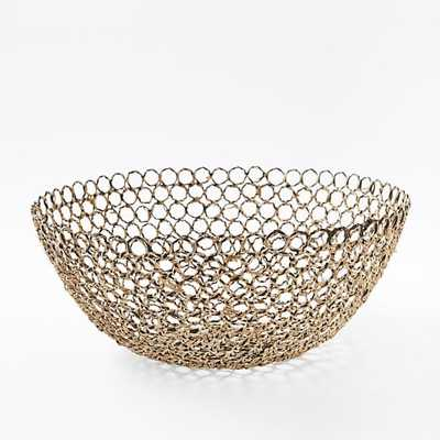 Wire + Cane Bowl - West Elm