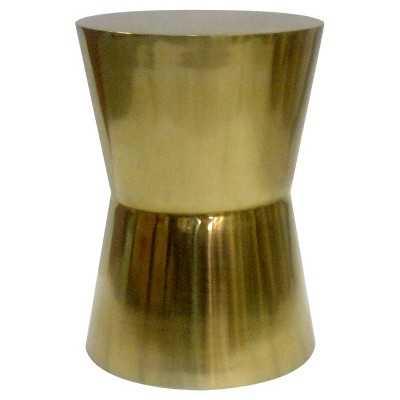 "Thresholdâ""¢ Gold Drum Table - Target"
