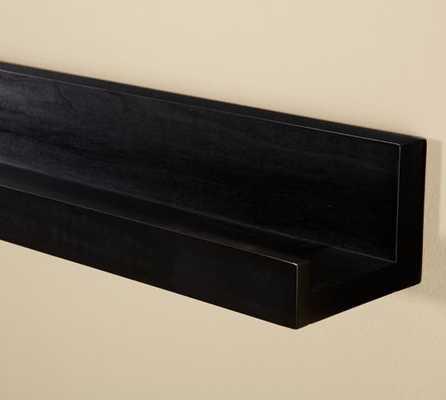 Holman Ledge - 3' - Black - Pottery Barn
