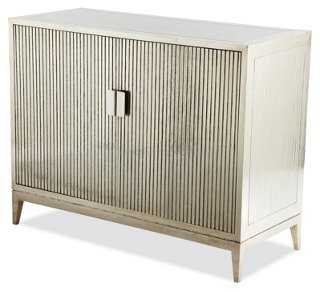 Baxter Ribbed Dresser, German Silver - One Kings Lane