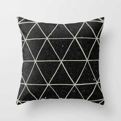 """Geodesic Pillow - 20"""" x 20"""" - Down insert Included - Society6"""