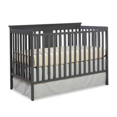 Stork Craft Mission Ridge Fixed Side Convertible Crib - Gray - toysrus.com