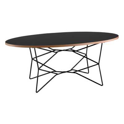 Black Network Coffee Table - Overstock