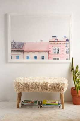 Kimberley Dhollander Dreamy Houses Art Print-30X40-White Matte Frame - Urban Outfitters